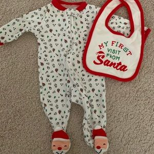 Carters Santa Outfit